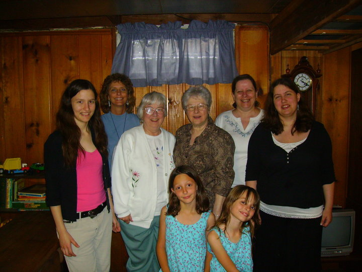 Four Generations of Sisters